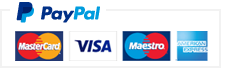 Paypal - 100% Secure Payment